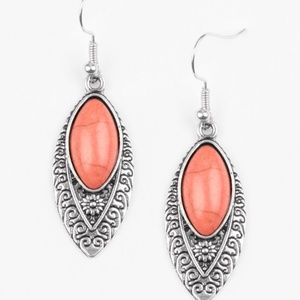 💍 5 for $25 sale! 💍 Orange Earrings